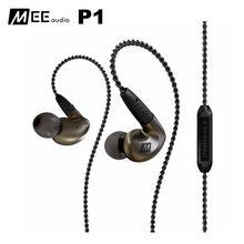 Originale MEE Audio MEElectronics Pinnacle P1 Audiophile Bass HIFI DJ Studio Monitor Musica Auricolari In-Ear con Cavo Staccabile
