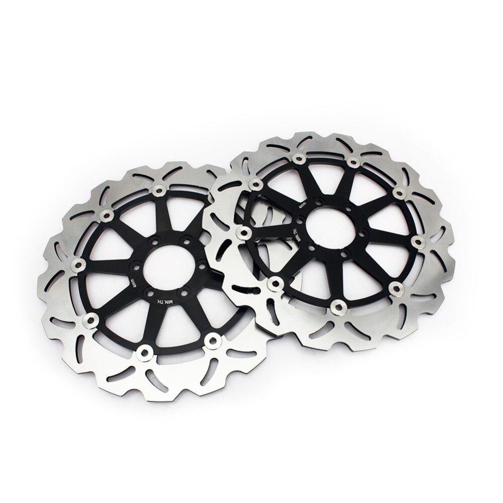 Discos de freno delantero BIKINGBOY rotores para LAVERDA GHOST SPORT 650 96 97 98 99 S fórmula 750 98-01 STRIKE 750 98-11