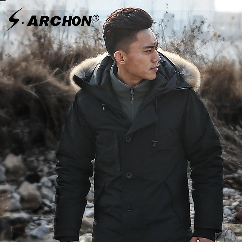 Мужская теплая тактическая куртка с хлопковой подбивкой, зимняя теплая пуховая куртка в стиле милитари, куртки в стиле милитари, американск...