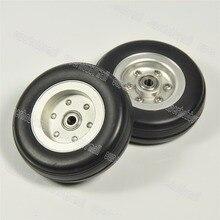 1 pièces roues en caoutchouc avec moyeu Alu pour avion RC nouveau 2 /2.25/2.75 /3/3.75 /4