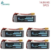 5pcslot 14 8v 2200mah 35c li po battery txt60jstec5 plug rechargeable 4s lipo lithium battery for rc car airplane helicopter