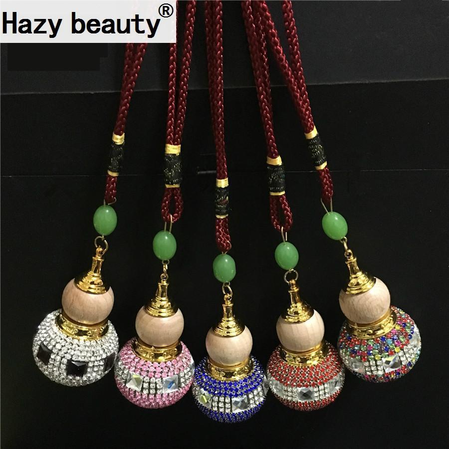 empty bottle car accessories car hanging jewelry diamond pendant, high-grade  empty bottle gourd Ornaments Car-styling