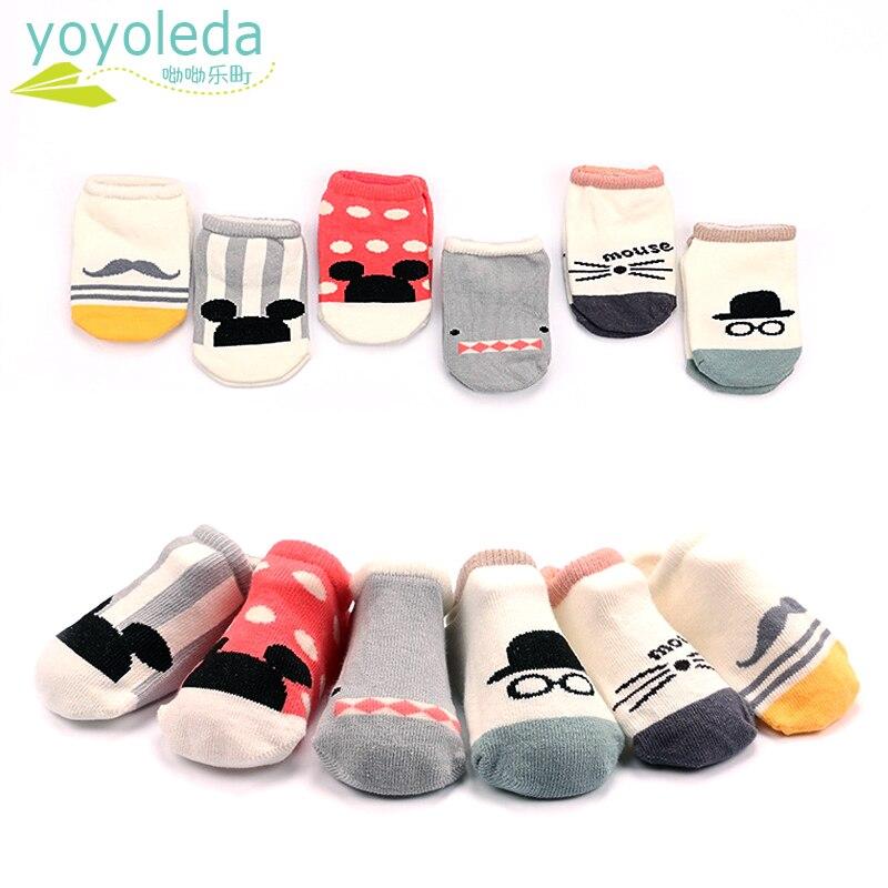 De alta calidad de calcetines para pies de bebé niño comodidad niños Anti-Slip tobilleras de algodón suave transpirable acogedor caliente calcetines caseros de suelo niño niñas