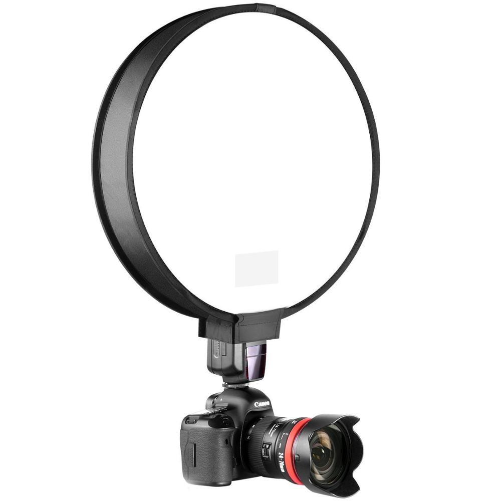 "30 cm/12 ""Mini portátil ronda estudio Softbox fotografía difusor de Flash Softbox para Canon Nikon Sony Yongnuo Speedlite"