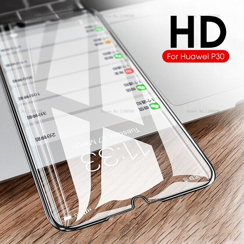 Vidrio templado para Huawei P30 Pro Lite P20 Lite Pro película protectora de pantalla ligera para Hauwei P30Lite P30Pro P20Lite P20Pro de vidrio