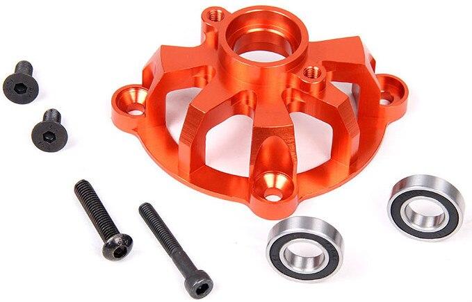 Baja embrague CNC cup metal stents metal tripod arc protection. Color plata