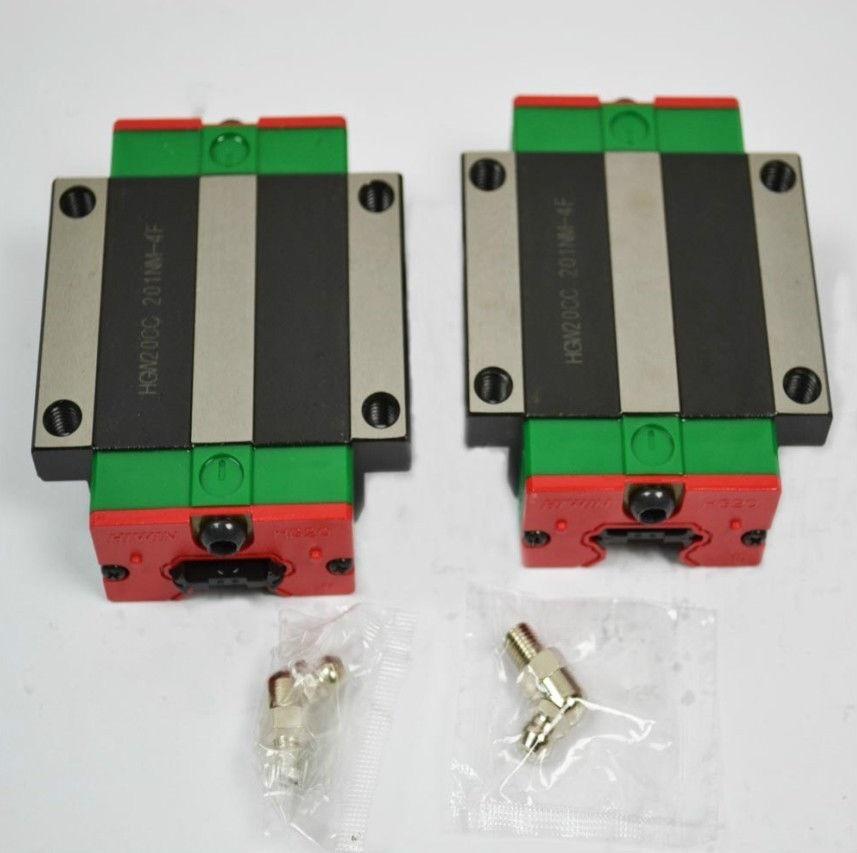 1pcs HGW35CC  100% original HIWIN Linear carriages blocks bearings HGW35CA HGW35CC for cnc rail
