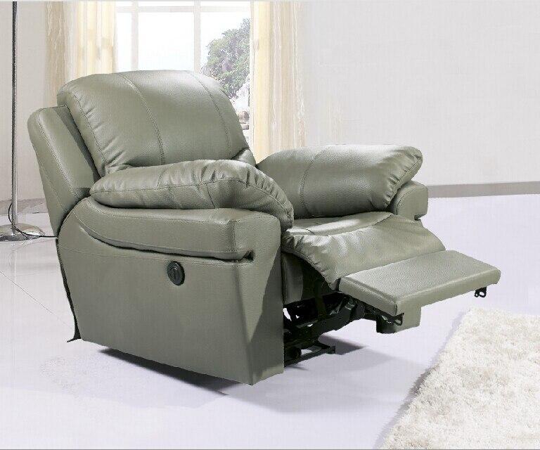 Античное Европейское креативное кресло из натуральной кожи, одиночное кресло для гостиной, диванные стулья, поворотное кресло, функциональ...