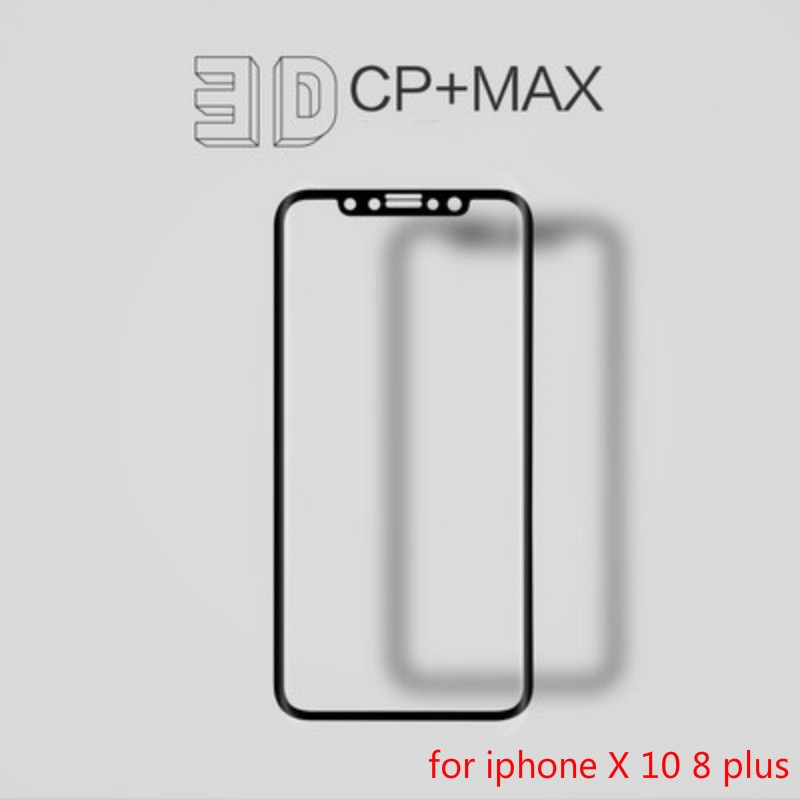 3D Full Cover Carbon Screen Protector For iPhone X Tempered Glass Curved Edge Protective Glass Film