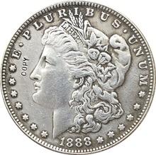 Copie de pièces de monnaie Morgan Dollar américaine   1888