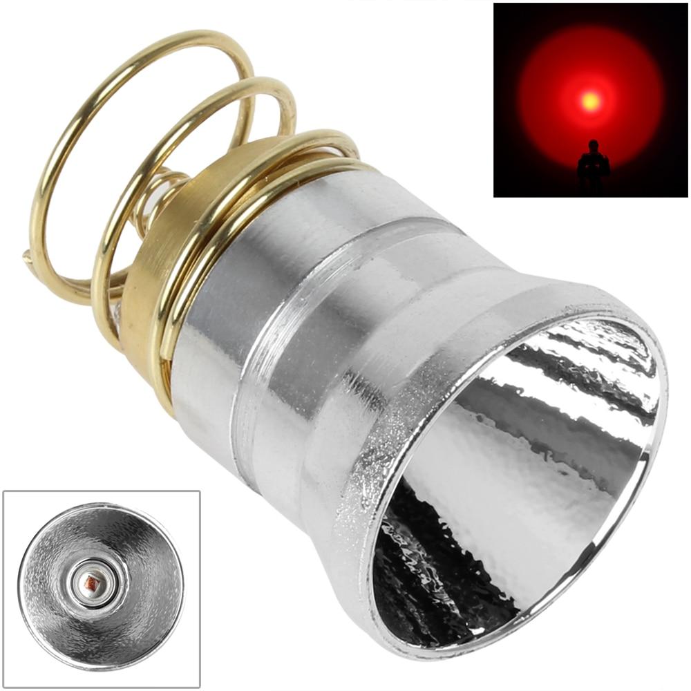 Linterna LED infrarroja de 4,2 V y 800LM, repuesto de 3 núcleos adecuado para lámpara Flash de visión nocturna 501B / 502B / 501D / 502D