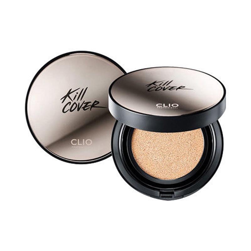Funda de cojín CLIO Kill, funda de cojín XP SPF50 + 15g + relleno 15g, funda de BB Cream, base correctora iluminadora Maquillaje facial