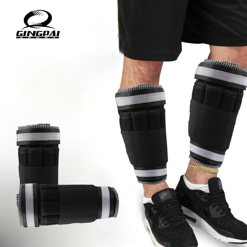 Новый Регулируемый поддерживающий ремешок для щиколотки, утолщенная защита от удара, для тренировок, тренажерного зала, только ремень весо...