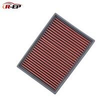 R-EP Replacement Panel Air Filter for BMW E36 Z3 E46 330 E38 E39 520 E60 E85 Z4 E90 High Flow Washable Reusable OEM 13721730946