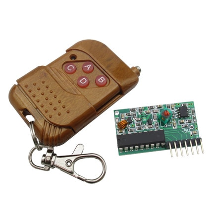 1 Набор IC 2262/2272 4 CH 315Mhz ключ беспроводно�