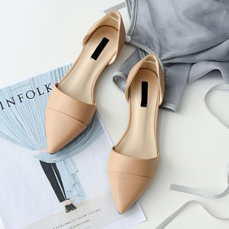 Sandalias cortas para mujer, sandalias de playa con punta estrecha sexis para primavera y verano, zapatos planos con boca baja para mujer, sandalias romanas para mujer