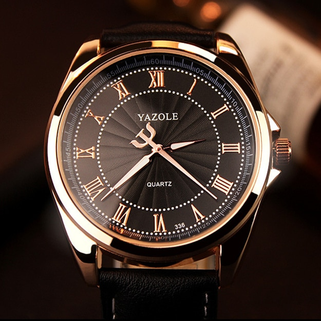 YAZOLE montre à Quartz hommes haut de gamme de luxe 2019 montres horloge montre-bracelet à Quartz-montre Hodinky Relogio Masculino erkek kol saati
