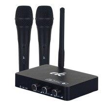 Беспроводной караоке микрофон караоке плеер КТВ караоке эхо система цифровой звук аудио миксер пение машина