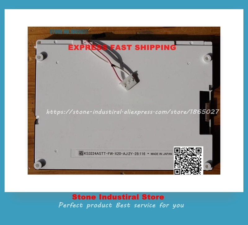 KS3224ASTT-FW-X20 pantalla LCD de 5,7 pulgadas probada 90% nuevo