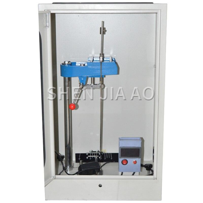 Máquina Probadora de amortiguación de varilla péndulo QHD pantalla de número eléctrico varilla de amortiguación 220 V 15 W