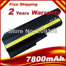 7800 mAh Batterie pour IBM Lenovo ThinkPad R60 R60e R61 R61e R61i T60 T60p T61 T61p R500 T500 W500 SL400 SL500 SL300 SL510