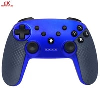 wholesale price wireless bluetooth gamepad game joystick controller for nintend switch with blue color