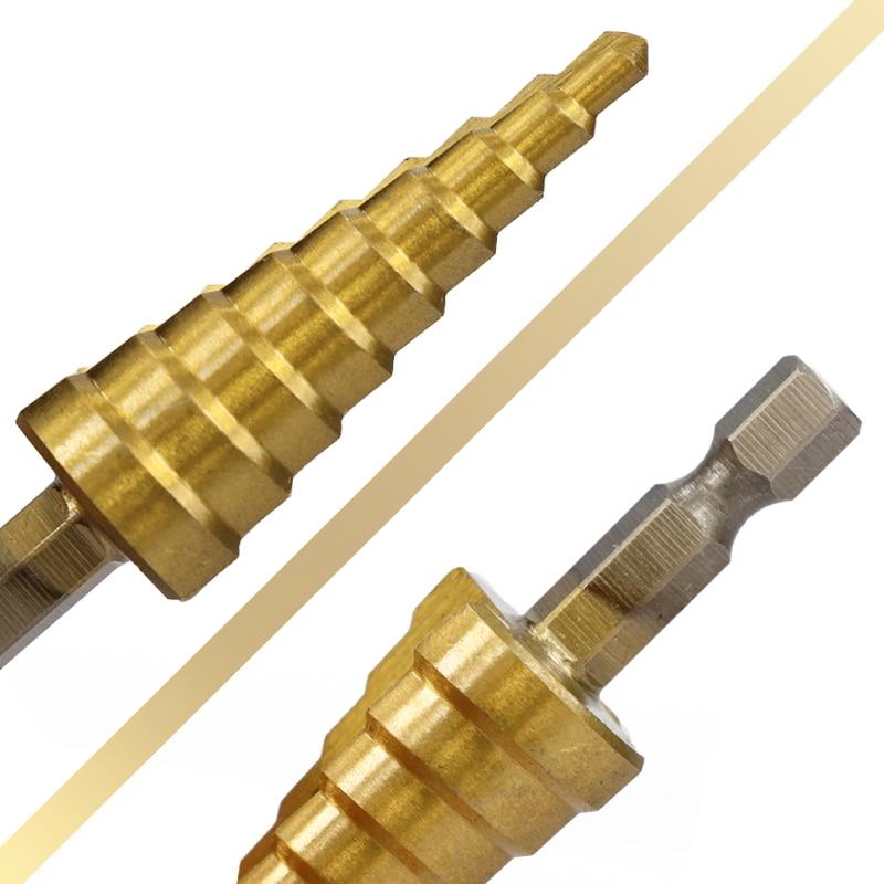 3tk 3-12mm 4-12mm 4-20mm HSS sirgjoonelise astmega - Puur - Foto 5