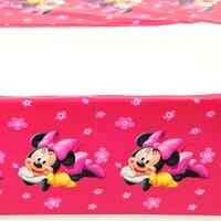 1 081 8m 1pc baby kids birthday party decoration table cover minnie theme tablecloth party supplies