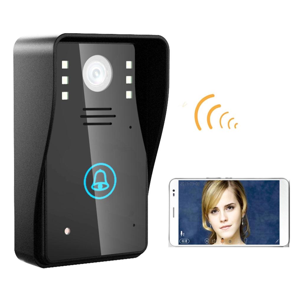HD 720 P Drahtlose WIFI Video-türsprechtürklingel Intercom System Nachtsicht Wasserdicht/türspion kamera