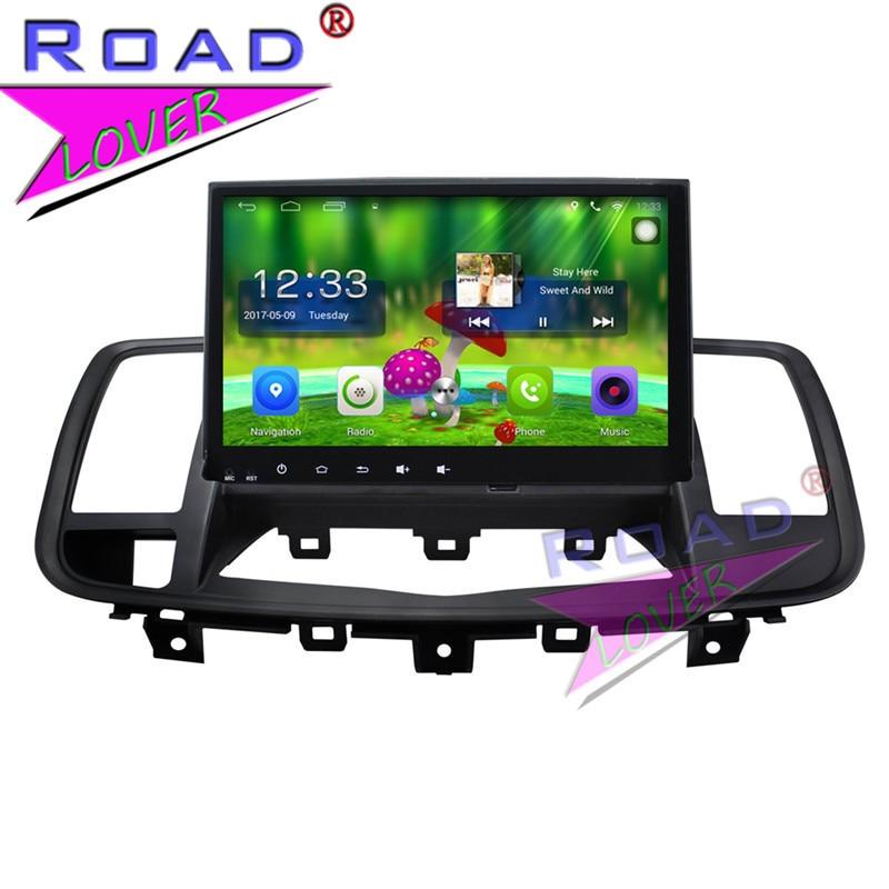 "TOPNAVI Android 6,0 2G + 32GB 9 ""centro multimedia de coche Radio para nuevos Nissan Teana 2008 estéreo navegación GPS SIN DVD Auto reproductor 2Din 3G"