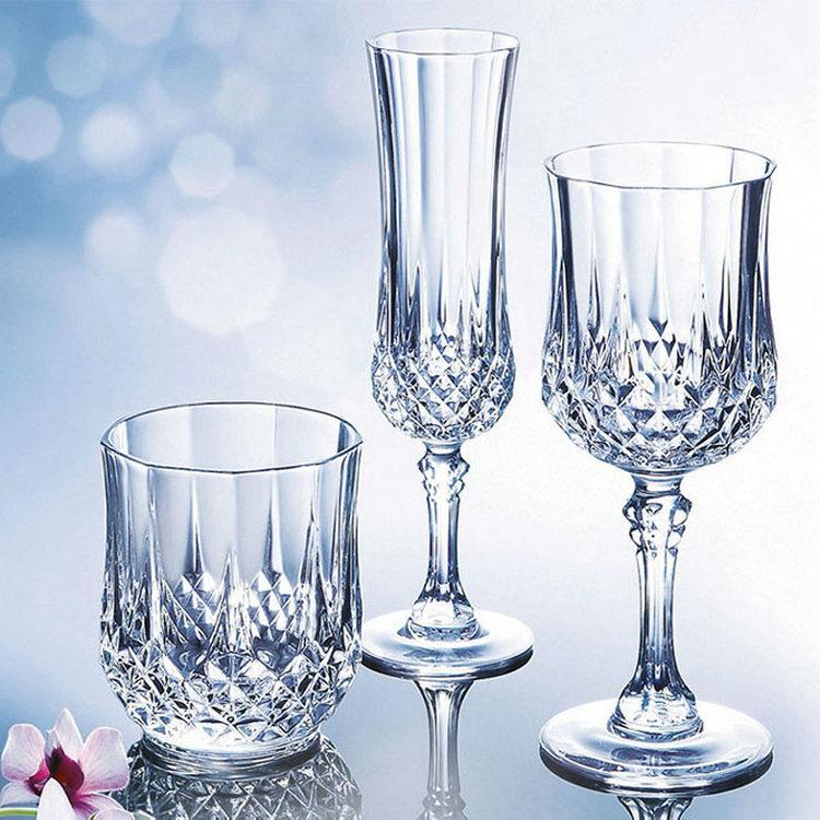 1pcs tallboy Wine Glass Lead-free Crystal Cups High Capacity Beer Glass Wine Cup Bar Hotel Drinkware Brand Vaso