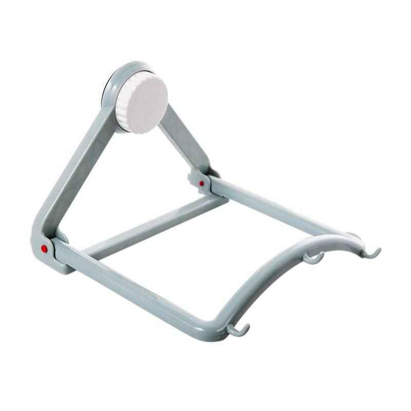 Automatic Rebound Rack Bathroom Kitchen Strong Suction Cup Washbasin Rack Storage Rack Folding Wall Hanging Kitchen Wall Hook