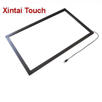 Xintai Touch 49 pulgadas 10 puntos IR pantalla táctil superposición Marco de panel sin vidrio