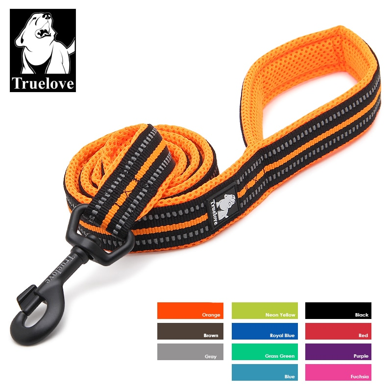 aliexpress.com - Truelove Soft Dog Pet Leash in Harness and Collar Reflective Nylon Mesh Walking Training 11 Color 200cm TLL2112 Dropshipping