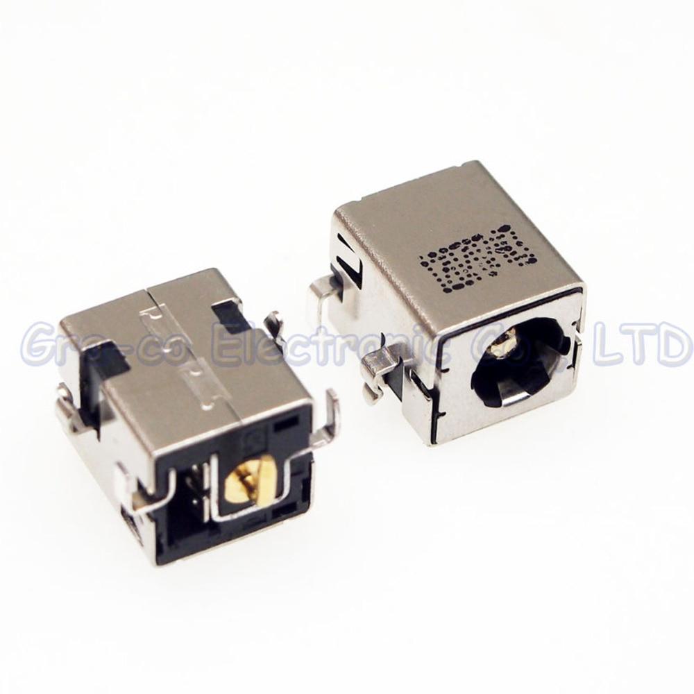 20 pcs DC Power Jack para ASUS EEE PC 1004DN A84S X54H 1201 K etc DC JACK DC tomada de Energia Interface