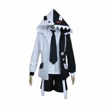 Anime super dangan ronpa 2 danganronpa monokuma urso preto e branco unisex requintado cosplay traje casual esporte meias presente