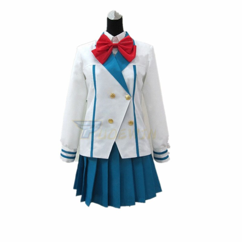 Costume de Cosplay uniforme de Chidori Kaname panique en métal Anime sur mesure
