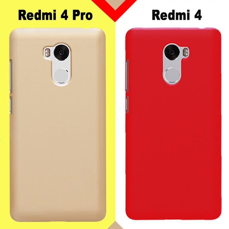 Xiaomi Redmi 4 case xiaomi redmi 4 pro cover plastic New Hard pc case for Xiaomi Redmi4 4 pro case cover High quality PC