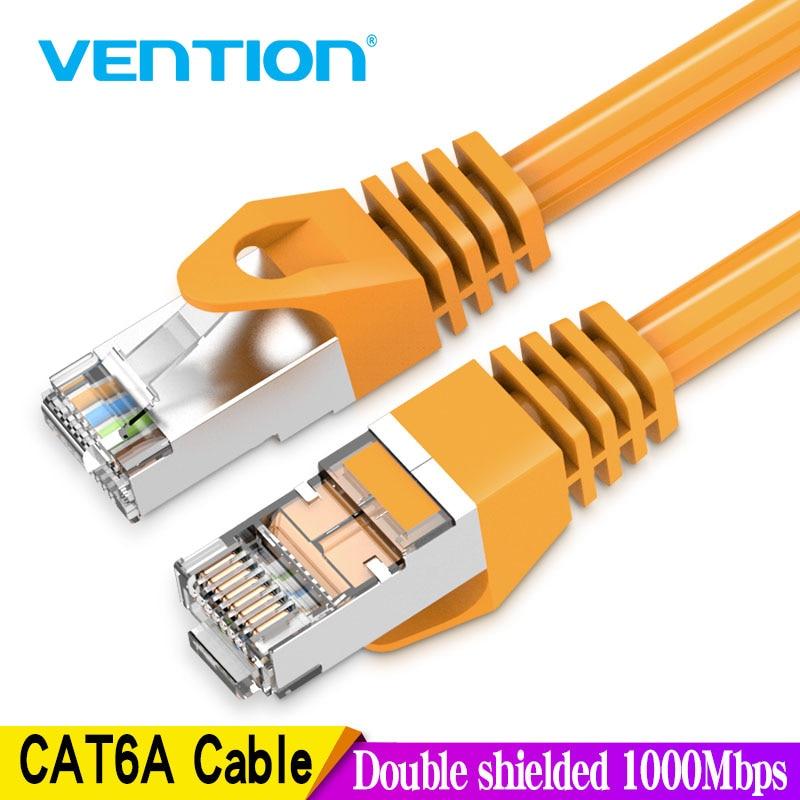 Vention-Cable Ethernet RJ45 Cat 6a, Cable Lan UTP RJ 45, de red...