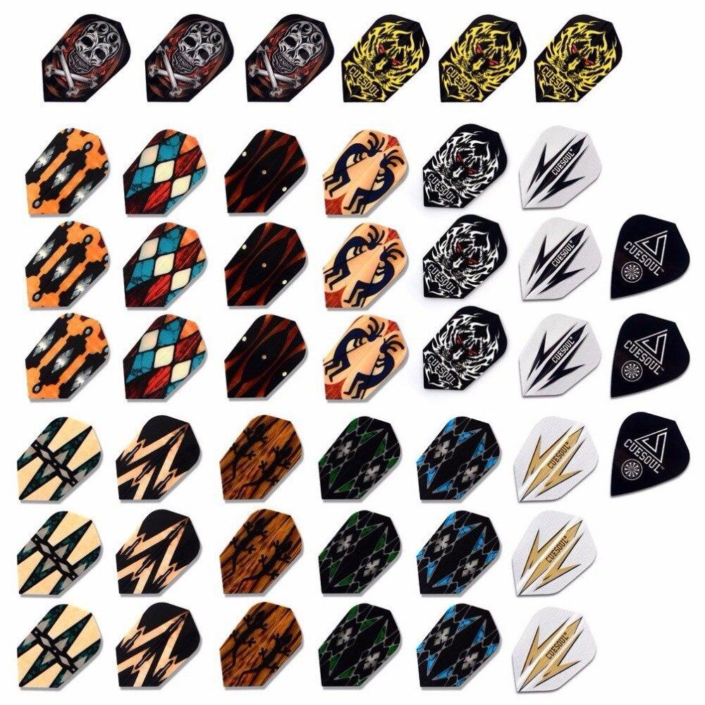 CUESOUL Atacado Preço 45PCS Vôos Dardo Fino de Multi-cor seleção Para Soft Tip Darts FRETE GRÁTIS