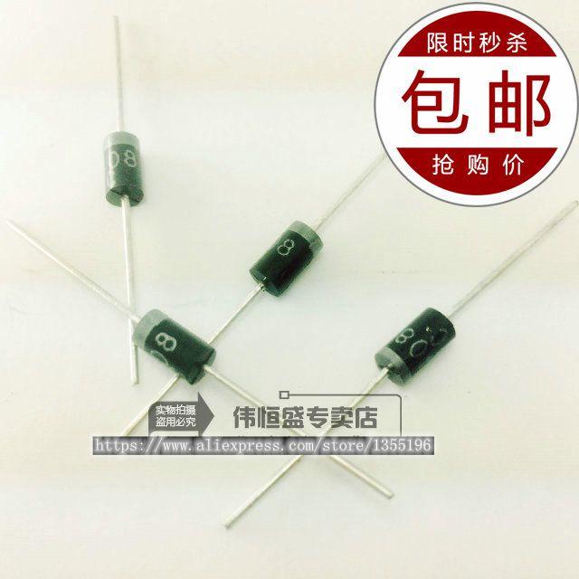 20 unids/lote HER505 DO-41 línea 5A / 500V rectificador de eficiencia