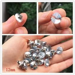20 botões de costura de pedra preciosa de cristal de alta qualidade dos pces botões para a camisa botões de vidro de cristal para acessórios de costura de vestuário 12mm