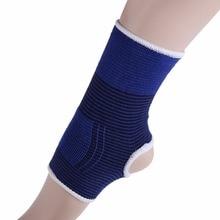 1 pièces élastique tricoté cheville orthèse bandeau de soutien sport gymnastique protège thérapie basket-ball football chaussures cheville protecteur