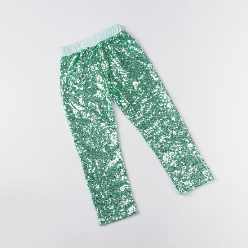Mallas de lentejuelas de menta para niños, pantalones aqua sparkle, pantalones con brillantina de lentejuelas para niñas, leggings para niñas, pantalones para niños pequeños, mallas de lentejuelas
