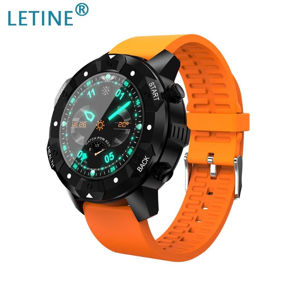 Letine-ساعة متصلة S3 لنظامي Android و IOS ، سوار إلكتروني ، مع wi-fi ، GPS ، مراقب معدل ضربات القلب ، IP67 مقاوم للماء ، بوصلة 1GB 16GB ، 5.1