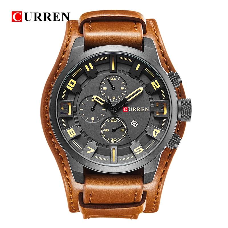Curren Watches 2017 watches men top brand luxury relogio masculino curren Quartz Wristwatch 8225