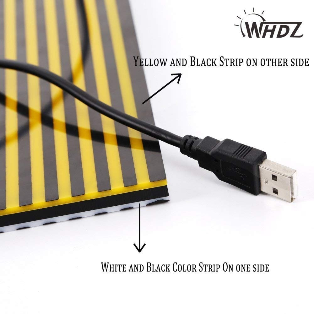 Flat Edge PDD Lamp for Strip Panel Board Without White Paint Board Lamp Reflective 5v USB Strips