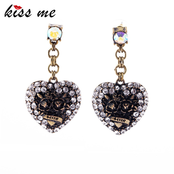 Fashion earring accessories love vintage 4ever women's earrings Factory Wholesale
