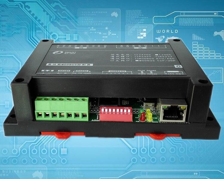 Entrada analógica de 8 vías 4-20mA al módulo de adquisición Ethernet Modbus TCP 8 salida de Transistor