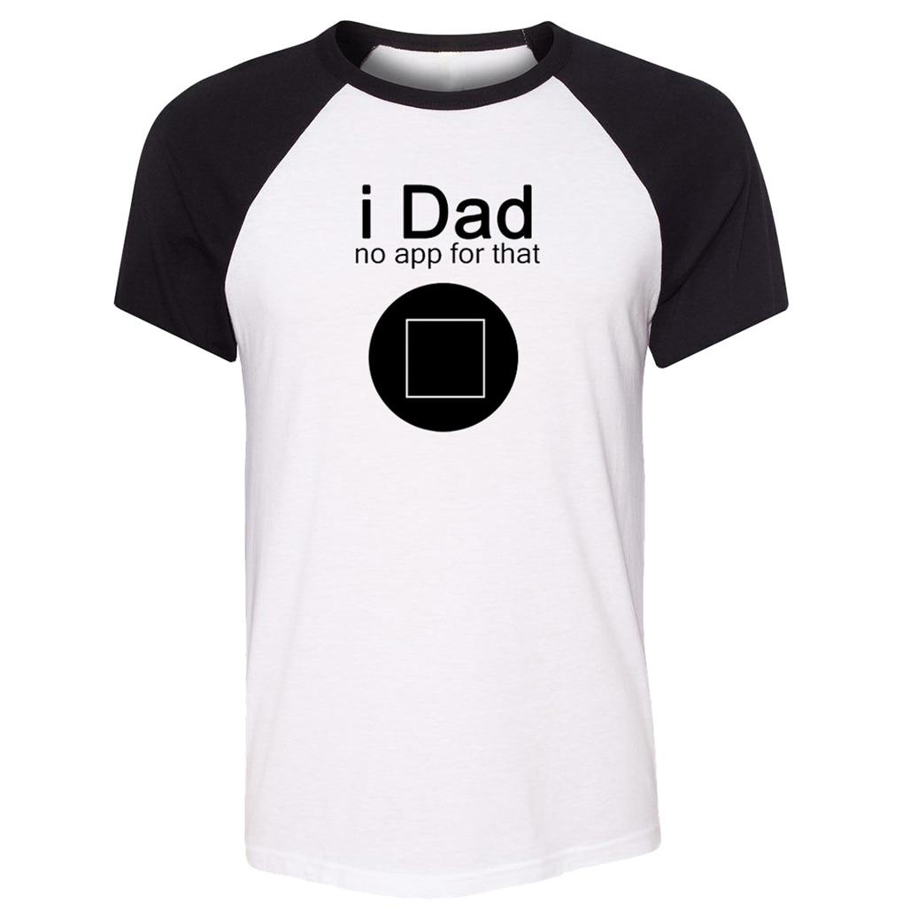 Que papá No App para que personalizados de los hombres de algodón de manga corta Camiseta de amante regalos para niño ENCUENTRO DE FANS ropa Cosplay